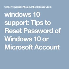 This is no more funny to lost a password of your computer and not at all able to access your laptop/ computer. Below are some methods to . Reset Password, Microsoft Windows, Windows 10, Accounting, Laptop, Lost, Tips, Laptops, Counseling