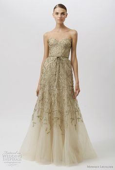 monique lhuillier wedding dresses 2012