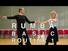 How to Dance Rumba - Basic Routine 1 - YouTube