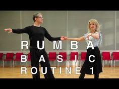 Routine Rumba cubana di base con rocce   Latin Dance - YouTube