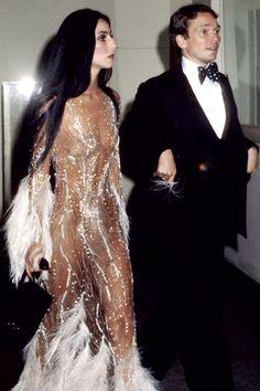 THE ORIGINAL KIM K: Cher in Bob Mackie 1974