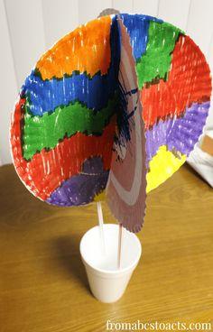 Preschool Paper Plate Crafts | ... Air Balloon Craft for Preschoolers with Paper Plates and Paper Cups
