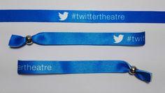 pulseras de tela personalizadas #twittertheatre #fabricantesdirectos