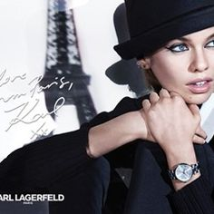 Model Stella Maxwell is the new face of Karl Lagerfield's Fall Winter 2017 collection (346586)