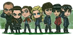 """Cast of """"The100"""""""