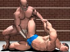 wrestling gay Erotic