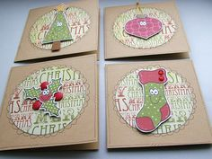Christmas Cuties Mini Cards
