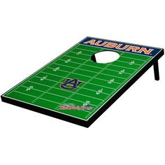 NCAA Auburn Tigers Tailgate Toss Game by Wild Sales. $79.99. Have some fun in your backyard or at a tailgating party with the NCAA® Tailgate Toss® from Wild Sales®. It includes 8 bean bags (2 sets of 4), game instructions, and 2 solid wood boards. The team logo and a football field pattern adorn each board.