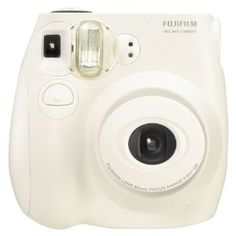 interesting form factor (and I have a thing for all white cameras)  - but its a film camera... and its FUJI's Instax film... instant film that makes credit card sized photos
