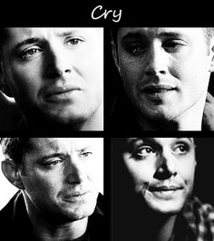 Dean crying | Supernatural. When dean cries it melts my heart.  He definitely doesn't cry ugly thats for sure.