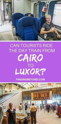 If you're a tourist and looking to ride the day train from #Cairo to #Luxor in Egypt, read our article on how to easily buy tickets for a stress-free journey. #trainsfromluxortocairo #egypttravel #egypttraintravel #egypt #cairotoluxortrain #egypttransportation | How to travel around Egypt | Is Egypt safe | Getting around  Egypt | Getting trains in Egypt | Backpacking in Egypt | Best of Egypt | #traintravel | Buying Train tickets In Egypt