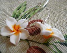 Hoops  Earrings and Flowers by JoJosgems on Etsy
