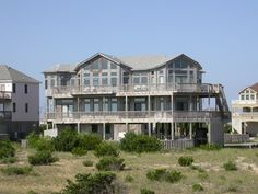 Outer Banks Vacation Rentals | Salvo Vacation Rentals | Dick & Jane's Cottage #369 |  (6 Bedroom Oceanfront House)