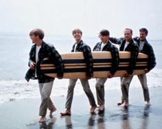 1960's Beach Boys (one of my husband's favorite singing groups back then)