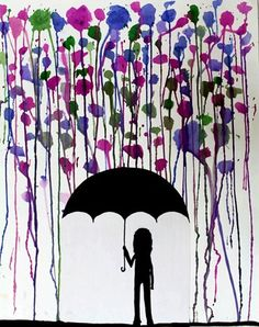 "From exhibit ""Rainstorm Silhouettes""  by Rachel7096"
