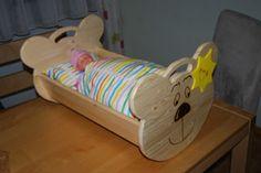 #Puppenwiege aus #Holz #Kinder #Spielzeug