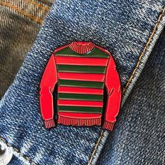 Freddy's Sweater / Horror Enamel Pin