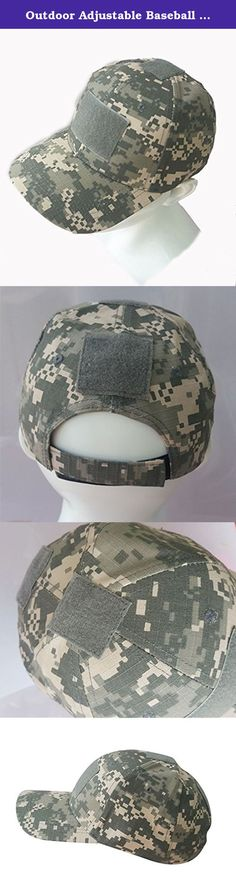 premium selection 1bccb aa2fd Outdoor Adjustable Baseball Velcro Cap Camo Duty Hat (7 Colors) for  Military Army Tactical