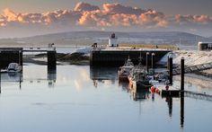 burry port harbour - Google Search Monochromatic Paintings, Cymru, Welsh, Google Search, Places, Art, Craft Art, Welsh Language, Kunst