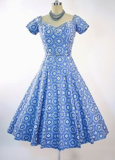 1950s Vintage Dress by Perullo, David Hart