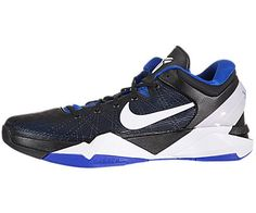 Nike Men's NIKE ZOOM KOBE VII BASKETBALL SHOES 10.5 (TREASURE BLUE/WHITE BLACK)