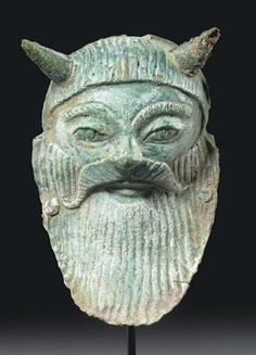 Etruscan Mask of Acheloos  520 BC  Christie's