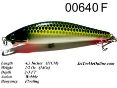 fishing lures | Fishing Lure -00640F ExLarge Minnow