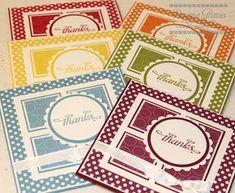 SU Polka Dot parade. Layers. Could be any kind of card.