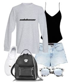 """Untitled #21553"" by florencia95 ❤ liked on Polyvore featuring .mcma., Alexander Wang, NIKE, Versace and Illesteva"