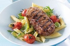 Create a Father's Day feast with these juicy steaks.