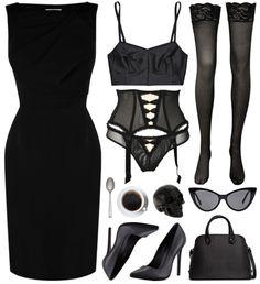 ☺ All Black - ☽ Fashion for your Strange Side ☾