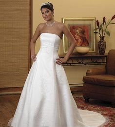 wedding dresses a line wedding dresses with straps wedding dresses laces casual strapless wedding dresses chapel train a line
