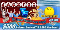 The Jackpot is $100 Each and Every Week!  Will YOU be the Winner on Monday?