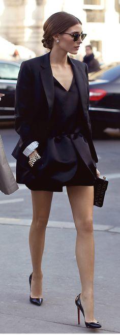 Olivia Palmero Style///Demasiado espectacular este outfit :)
