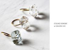 GALERIE VIE2店舗にて ETSUKO SONOBE 期間限定フェア 最高の宝モノをあなたに | jewelry journal