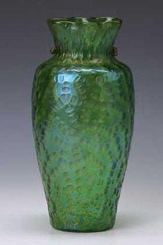 Vase, Loetz, circa 1905, glass