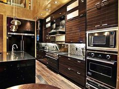 Do you like a modern kitchen like this or something more traditional?