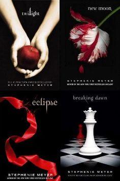 The Twilight Saga - Twilight, New Moon, Eclipse, Breaking Dawn I Love Books, Good Books, Books To Read, My Books, Amazing Books, Book Tv, Book Series, The Book, Twilight New Moon