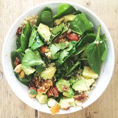 spinazie quinoa salade
