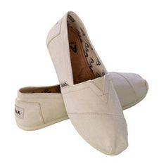 Women Slip On Organic Canvas Shoes, Alpargatas style, Color Natural