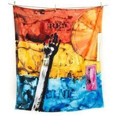Jasper Johns Artist Towel, by Art Production Fund. $95