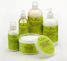 SheaMoisture Tahitian Noni & Monoi Hair Care collection features protein-based treatment products that smooth, soften and control frizz, leaving textured hair more manageable, while strengthening and repairing hair.