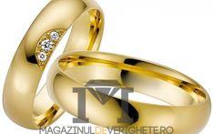 Verighete aur galben 5.5mm mdv800 #verighete #verighete5mm #verigheteaur #verigheteaurgalben #magazinuldeverighete Aur, 50 Euro, Bangles, Bracelets, Karate, Jewelry, Crystal, Diamond, Jewlery