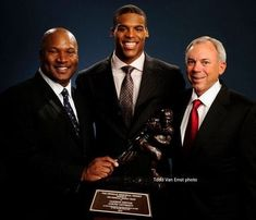 Heisman! Auburn has won three Heismans -- (left to right): Bo Jackson, Cam Newton, and Pat Sullivan, our first Heisman winner. I still have an Auburn jersey I wore when I was a teenager, and it proudly bears Pat Sullivan's number, my lucky number 7! ~DLP