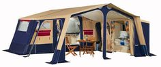 Trigano Chantilly Trailer Tent ideal for large Family Camping Holidays
