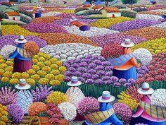 pintura peruana naif - Cerca amb Google
