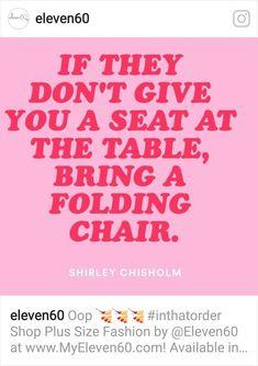 Shirley Chisholm, Folding Chair, Plus Size Fashion, Brown, Plus Size Clothing, Plus Sizes Fashion, Chocolates, Curvy Girl Fashion, Plus Size Fashions