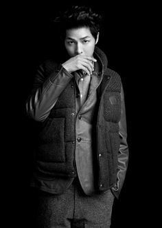 Song Joong Ki : Customellow 2012 Winter Campaign