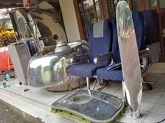 Aircraft parts & fittings salvaged for sale in Indonesia
