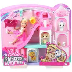 Barbie Chelsea Doll, Barbie Doll Set, Doll Clothes Barbie, Barbie Toys, Barbie Stuff, Little Girl Toys, Cool Toys For Girls, Girls Toys, Princess Adventure